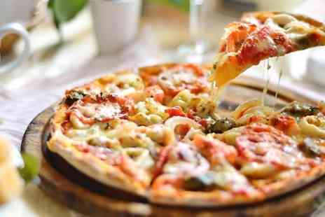 Suede Bar - Pizza and Drinks For Two  - Save 44%