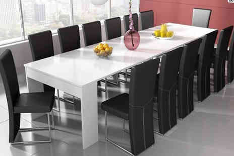 Clean Furniture - Extendible Dining Table - Save 63%