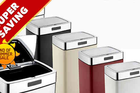 To Your Home - Mono Rectangle Sensor Bins  - Save 75%