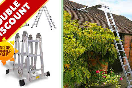 Home Shopping Selections - Pro Articulated Multi Function Ladder - Save 68%