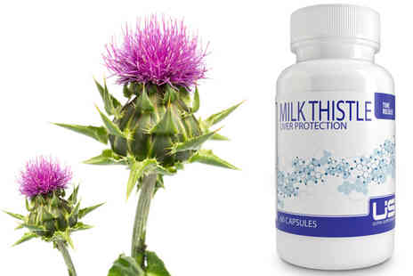 Ultra Supplements - Two Month Supply of Milk Thistle Supplements - Save 79%