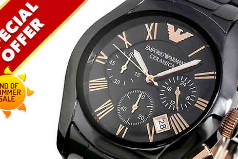 Designer Zone Watches - Mens Emporio Armani Watch - Save 0%