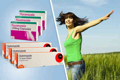 ClearChemist - Three oral and cream duo packs of thrush treatment - Save 83%