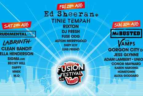 Fusion Festival - Tickets to Fusion Festival - Save 35%