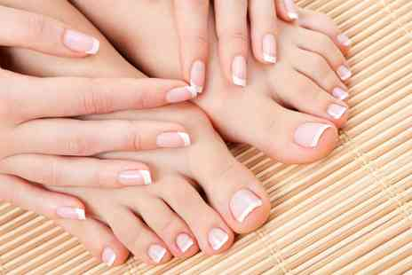 kelly jaynes salon - Acrylic Nails or Gel on Hands or Feet  - Save 0%