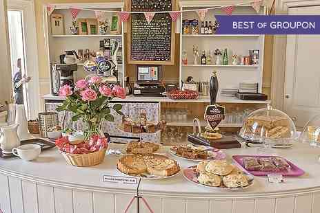 De Grey Rooms  - Tea, Quiche and Cake For Two or Four Plus Bubbly  - Save 44%