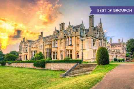 Rushton Hall - One or Two Nights Stay For 2 With Breakfast and Spa Acess  - Save 0%