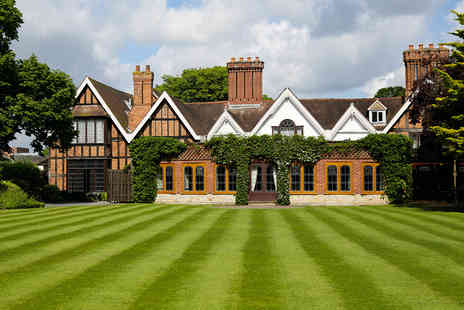 Macdonald Alveston Manor Hotel - Shakespeare Country Spa Day with a Treatment, Prosecco and Afternoon Tea - Save 42%