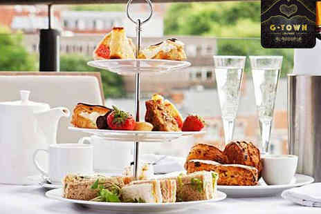 G Town Lounge - Afternoon Tea for Two  - Save 50%