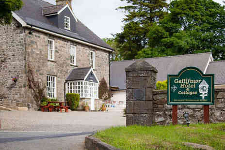 Gellifawr Hotel, Restaurant & Cottages - Two  Night Stay in Double Room or Self Catering Cottage for Two  with Breakfast - Save 50%