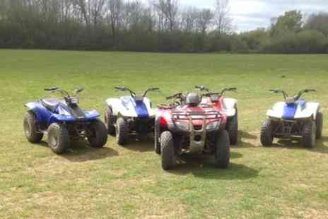 Quad Cross -  Five Mile Quad Biking Experience  - Save 63%
