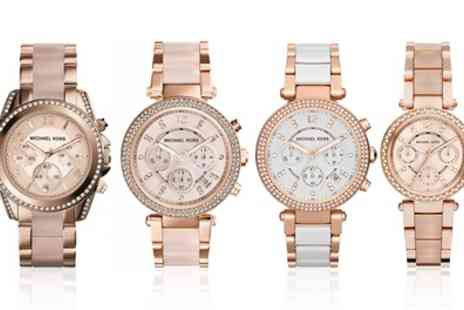 I Love watches - Michael Kors Blush Watch in Choice of Model With Free Delivery - Save 39%
