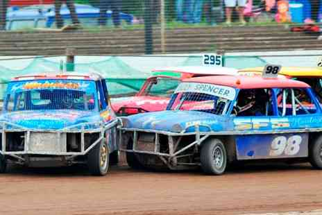 Startrax - Entry to Startrax Stockcar Racing For Two Adults or a Family - Save 50%