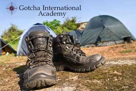Gotcha International Academy - Two Day and One Night Military Experience Package For Two for £96  - Save 60%