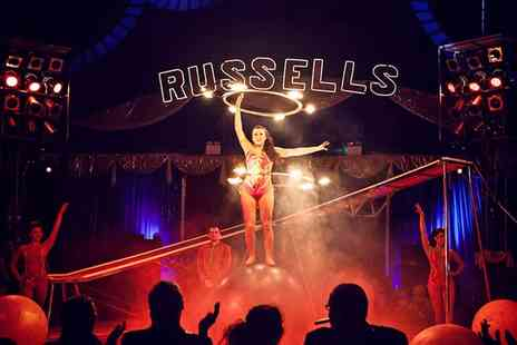 Russells International Circus - Russells International Circus in Cleethorpes 17 to 27 September - Save 70%