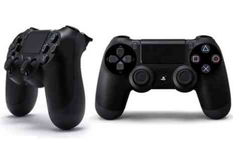 Photo Direct - Sony PlayStation DualShock 4 Jet Black Controller  With Free Delivery  - Save 35%