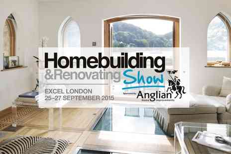 Homebuilding & Renovating Shows - Entry  to The Homebuilding & Renovating Show for Two - Save 58%