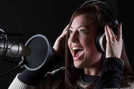 Big Jam Studios - Pop Star Taster or Ultimate Recording Experience for Three - Save 71%