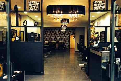 Scissors & Razors - Haircut and Finish With Optional Full Head of Colour  - Save 50%