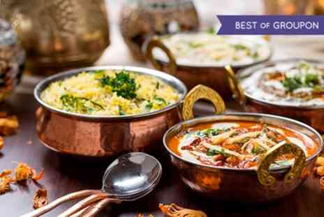 Rajpoot Restaurant - Indian Meal with Rice or Naan and a Glass of House Wine  - Save 34%