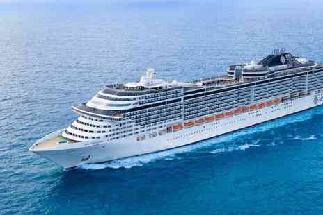 Mediterranean Cruise - Climb aboard the MSC Preziosa for a Seven night cruise with  full board and more - Save 0%