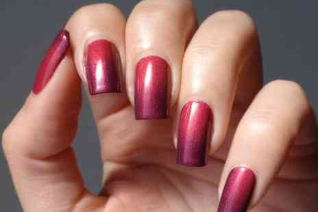 Sunset Boulevard - Colour changing Shellac manicure and pedicure   - Save 25%