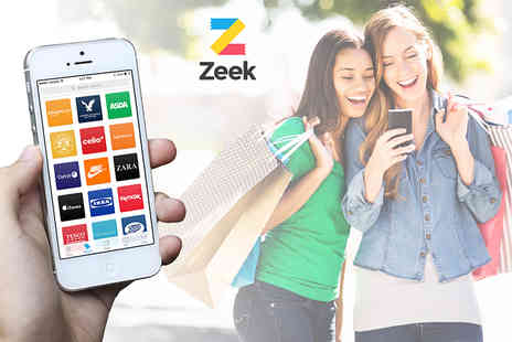Zeek Mobile  - £10 for £20 credit to be used towards discounted high street vouchers on Zeek.me  - Save 50%