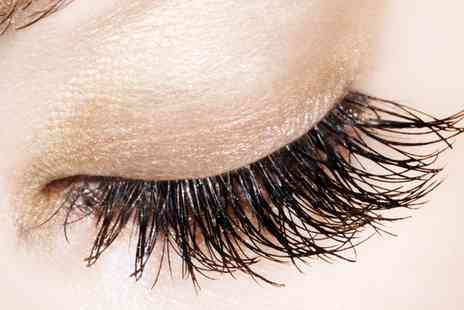 OMG - Semi Permanent Russian Eyelash Extensions Plus Brow Treatment - Save 60%