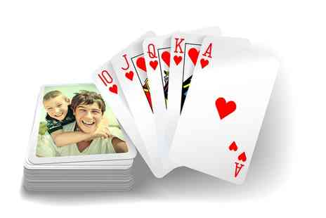 Prentu - Personalised Playing Cards Set - Save 50%