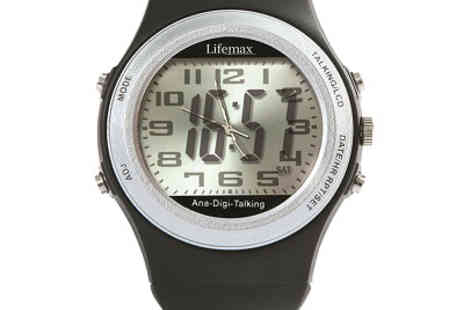 JEM Marketing & Fulfilment Services - Talking Analogue and Digital Watch - Save 0%