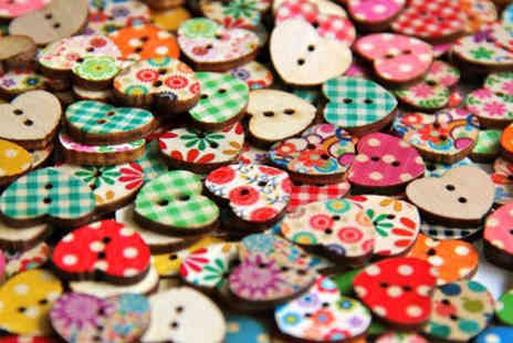 iThink Gadgets - A Variety of Wooden Buttons - Save 80%