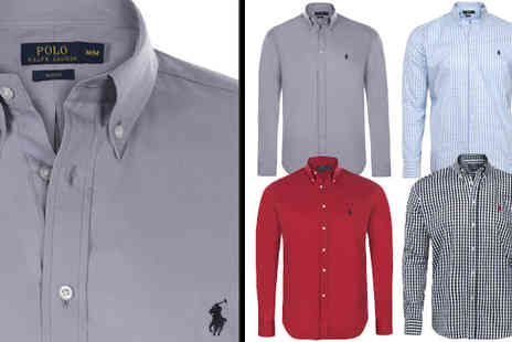 Intriangle Solutions - Choice of Men's Ralph Lauren Shirts - Save 62%