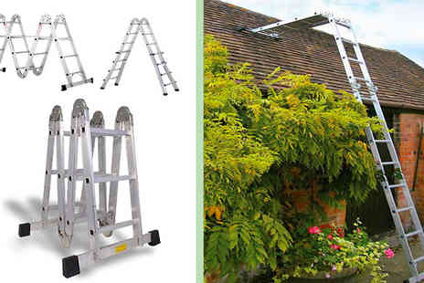 Home Shopping Selections - Pro Articulated Multi Function Ladder - Save 67%