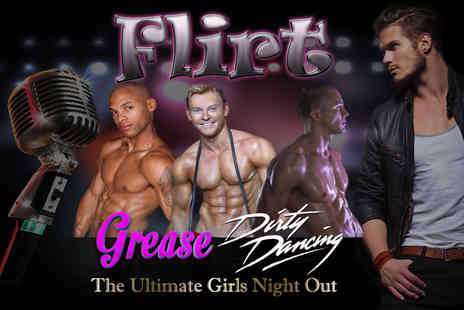 Flirt   - Dirty Dancing and Grease Show at VOID Nightclub including a buffet dinner and glass of Champagne  - Save 50%