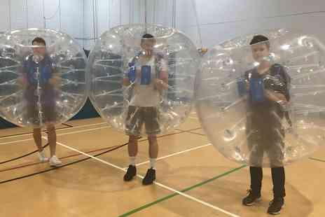 Shirebrook Leisure Centre - 90 Minute Zorb Football Match For Up to 15 Players With Soft Drinks - Save 0%