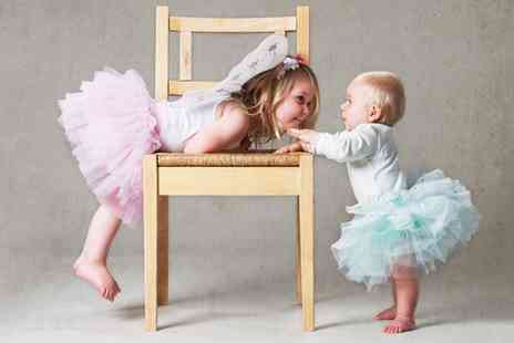 Pauls Studio - Childrens Photoshoot with Two Mounted Prints  - Save 0%