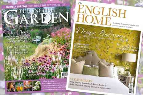 Chelsea Magazines - One Year Subscription to The English Garden - Save 50%