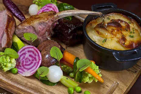Grenache - Double AA Rosette Three Course Sunday Lunch with Wine for Two - Save 41%