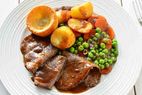 The Clanfield Tavern - Cotswolds Two Course Sunday Roast for Two - Save 41%