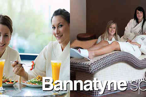 Into The Blue - Two's Company Bannatyne Spa Day - Save 0%