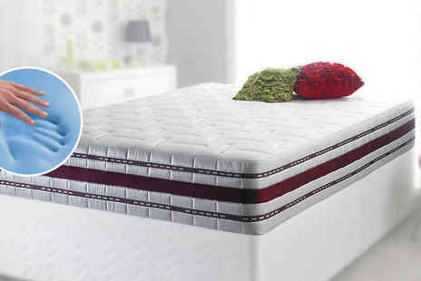 Flamejar - Aeroflow Cool Blue Pocket Sprung Mattress - Save 77%