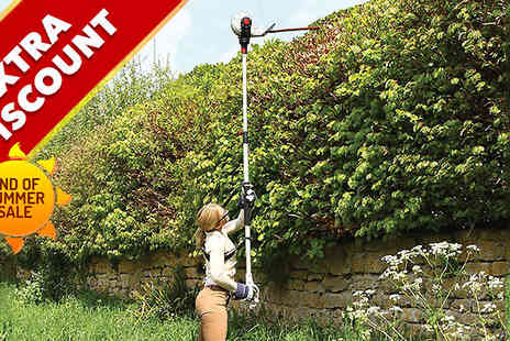 Home Shopping Selections - Eckman Telescopic Hedge Trimmer - Save 58%