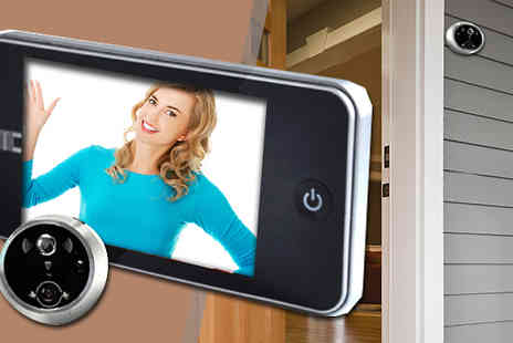 Rose River - Digital Door Peep Hole Set - Save 51%