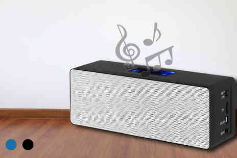 Eurosfield Online Store - Wireless Bluetooth Stereo Speaker - Save 60%