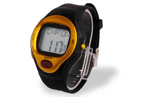Eurosfield Online Store - Waterproof Heart Rate and Calorie Counter Watch - Save 54%