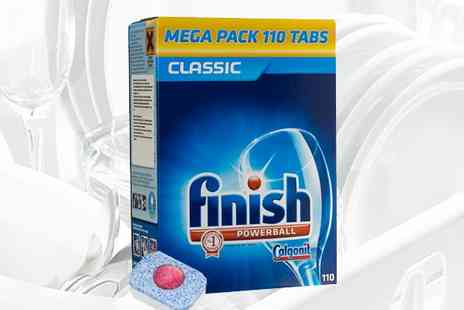 Pricecheck Toiletries - Finish XXL Powerball Classic Dishwasher Tablets - Save 69%