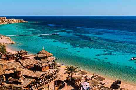 Sharm el Sheikh Aqua Blue Resort - All Inclusive stay for Seven, Ten or Fourteen nights in Sharm el Sheikh with flights - Save 0%
