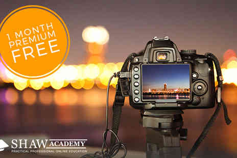The Shaw Academy - Online Photography Course - Save 95%