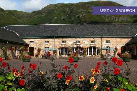The Harviestoun Country Hotel - Two Courses meal For Two - Save 45%