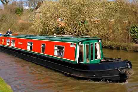 Claymoore Canal Holidays - Three or Four Nights Stay For 4 On Canal Boat  - Save 0%